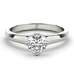 The Diamond Story Platinum 1/2 carat diamond ring - Product number 5046467