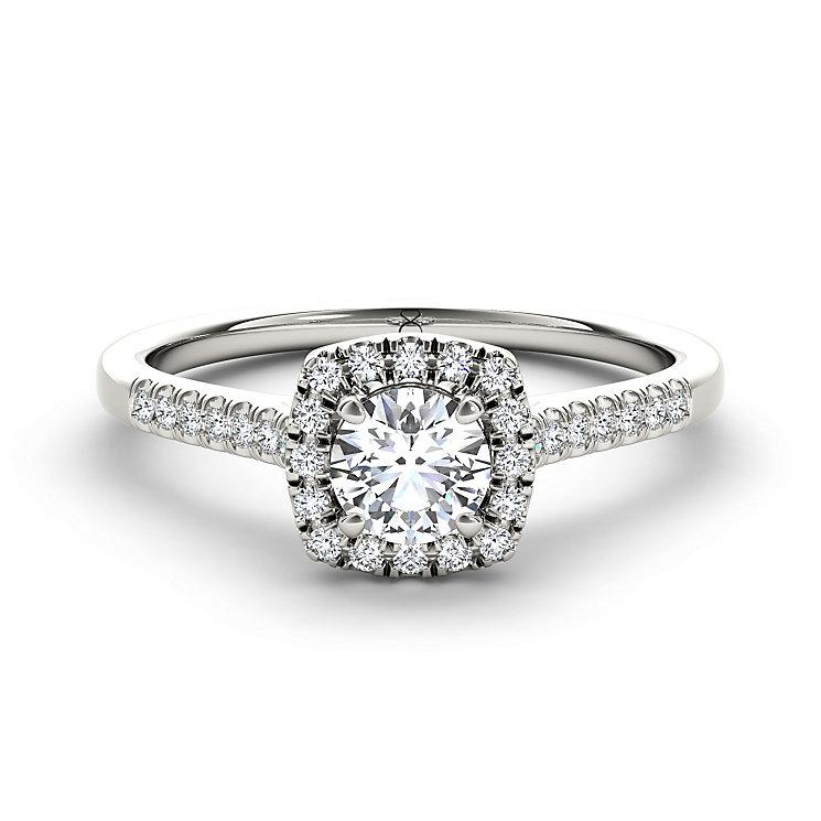 The Diamond Story Platinum 2/3 carat diamond ring - Product number 5046734