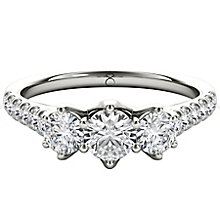 The Diamond Story Platinum 1ct HI I1  Diamond Ring - Product number 5046866