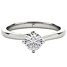 The Diamond Story Platinum 0.33ct HI I1 Diamond Ring - Product number 5046998