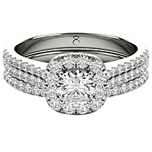 The Diamond Story Platinum 1ct HI I1 Diamond Bridal Set - Product number 5047129
