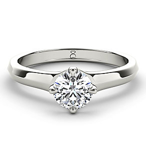 The Diamond Story Platinum 2/3ct diamond solitaire - Product number 5047390