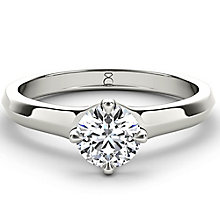 The Diamond Story Platinum 1.50ct diamond solitaire - Product number 5048079