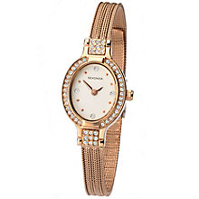 Sekonda Ladies' Rose Gold-Plated Mesh Bracelet Watch - Product number 5052297