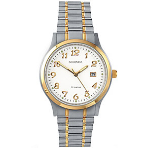 Sekonda 2 Colour Stainless Steel Bracelet Watch - Product number 5052343