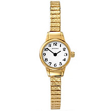 Sekonda Ladies' Gold-Plated Expandable Bracelet Watch - Product number 5052386
