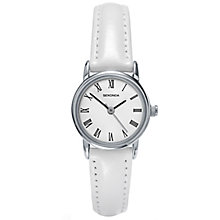 Sekonda Ladies' White Dial White Leather Strap Watch - Product number 5052394
