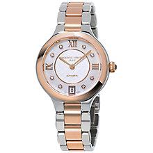 Frederique Constant Two Colour Stone Set Bracelet Watch - Product number 5053617