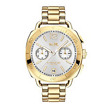 Coach Tatum Ladies' Gold Tone Bracelet Watch - Product number 5053730