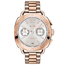 Coach Tatum Ladies' Rose Gold Bracelet Watch - Product number 5053749