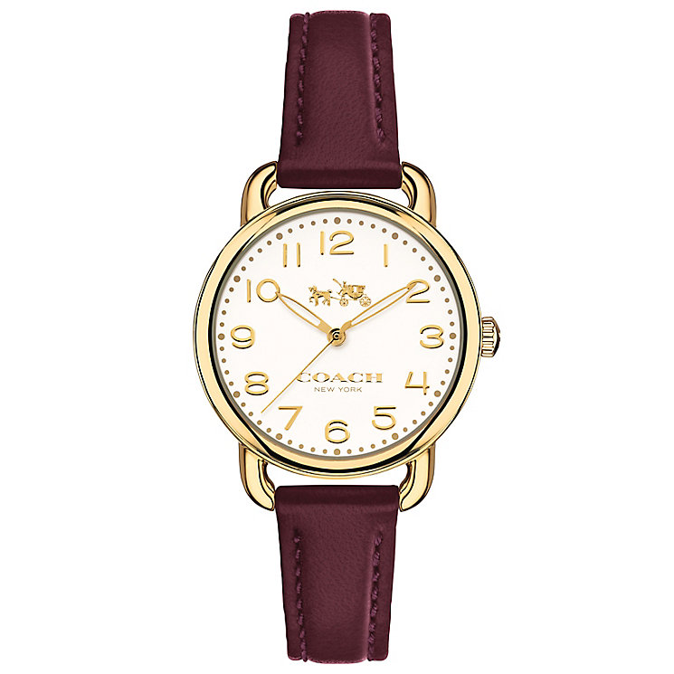 Coach Delancy Ladies' Stainless Steel Strap Watch - Product number 5053765