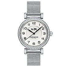 Coach Madison Ladies' Stainless Steel Stone Set Watch - Product number 5053781