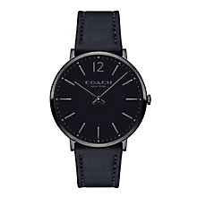 Coach Men's Ion Plated Strap Watch - Product number 5053889