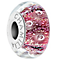 Chamilia Rose Murano Glass Effervescence Bead - Product number 5056748