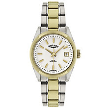 Rotary Ladies' 2 Colour Stainless Steel Bracelet Watch - Product number 5056896