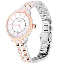 Rotary Ladies' 2 Colour Stainless Steel Bracelet Watch - Product number 5056993