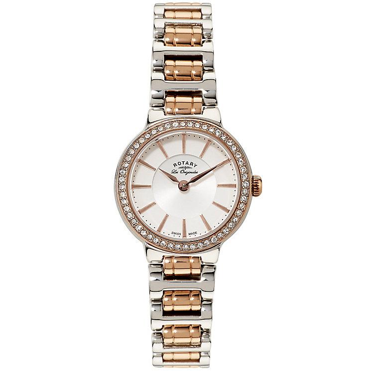 Rotary Les Originales Ladies' 2 Colour Steel Bracelet Watch - Product number 5057116