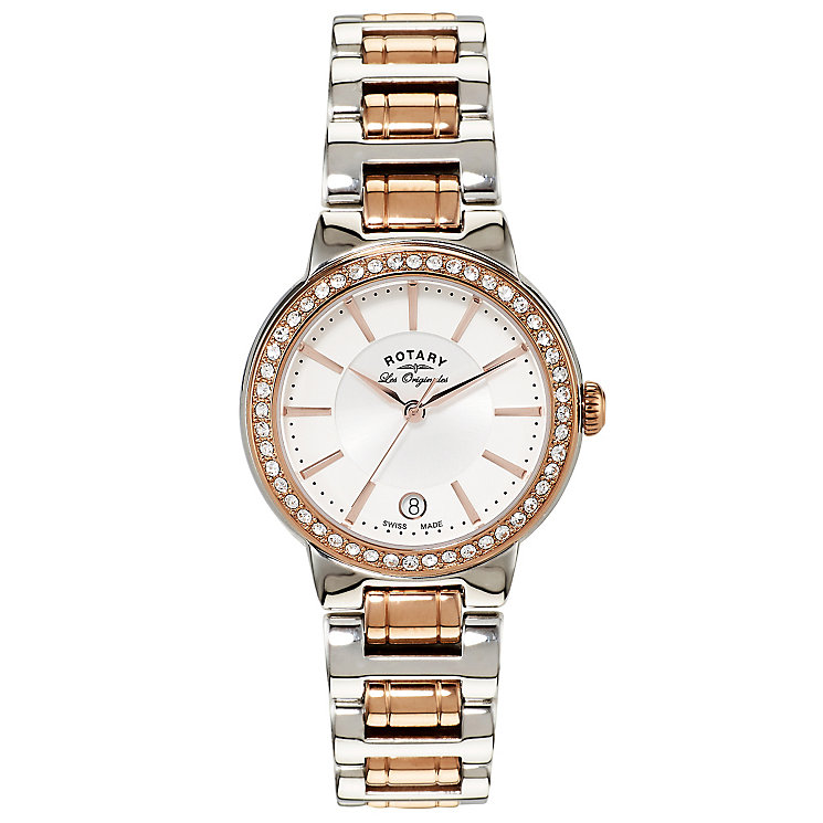 Rotary Les Originales Ladies' 2 Colour Steel Bracelet Watch - Product number 5057124