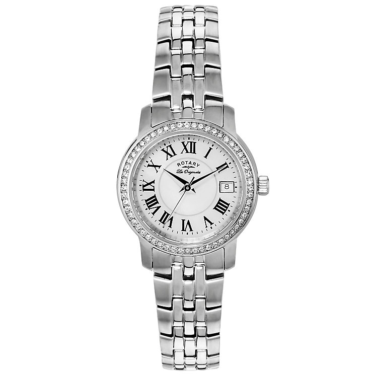 Rotary Les Originales Ladies' Stainless Steel Bracelet Watch - Product number 5057159