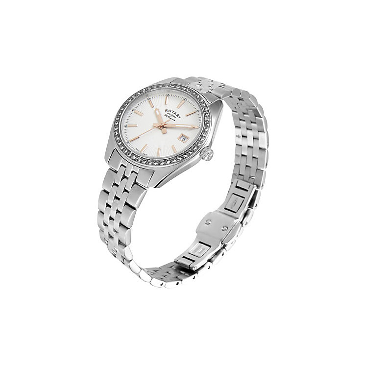 Rotary Les Originales Ladies' Stainless Steel Bracelet Watch - Product number 5057183
