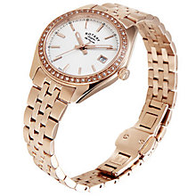 Rotary Les Originales Ladies' Rose Gold-Plated Watch - Product number 5057191