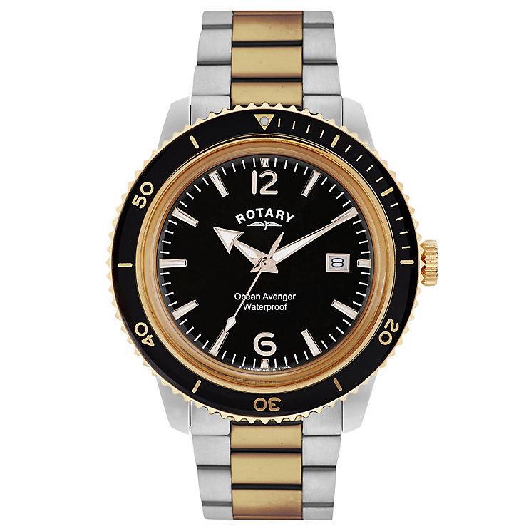 Rotary Ocean Avenger Men's Stainless Steel Bracelet Watch - Product number 5057418