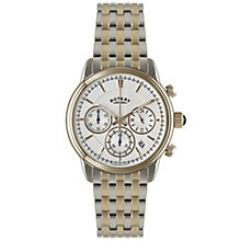 Rotary Men's 2 Colour Stainless Steel Bracelet Watch - Product number 5057477