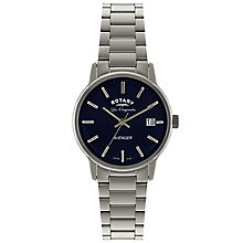 Rotary Avenger Men's Stainless Steel Bracelet Watch - Product number 5057558