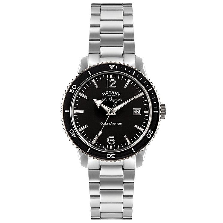 Rotary Ocean Avenger Men's Stainless Steel Bracelet Watch - Product number 5057590