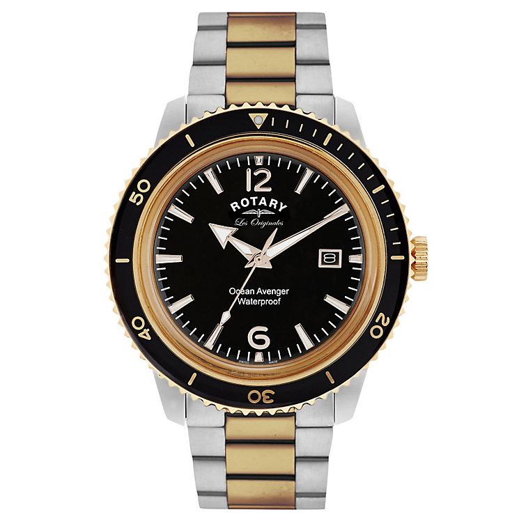 Rotary Ocean Avenger Men's Stainless Steel Bracelet Watch - Product number 5057604
