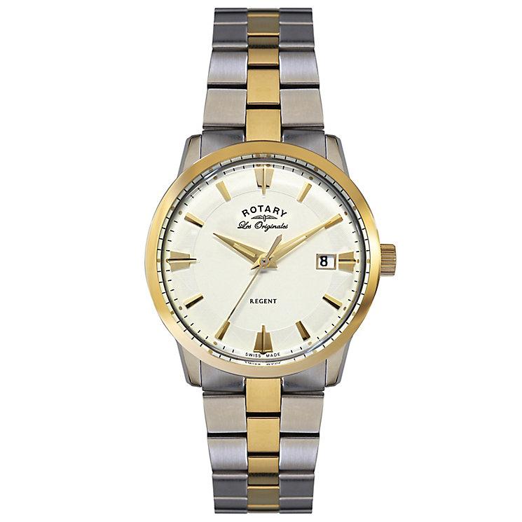 Rotary Les Originales Regent Men's Steel Bracelet Watch - Product number 5057647