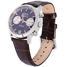 Rotary Avenger Men's Blue Dial Brown Leather Strap Watch - Product number 5058015