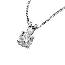 Platinum 0.50ct diamond pendant - Product number 5063698