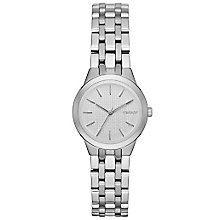 DKNY Ladies' Silver Dial Stainless Steel Bracelet Watch - Product number 5065550