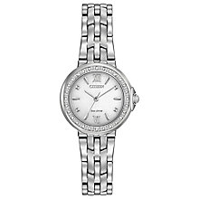 Citizen Eco Drive Ladies' Stainless Steel Bracelet Watch - Product number 5066824
