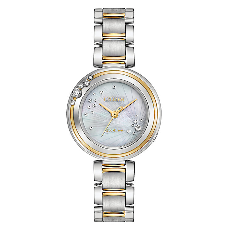 Citzen L Carina Ladies' Two Colour Bracelet Watch - Product number 5066859