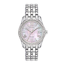 Citizen Eco Drive Ladies' Stainless Steel Bracelet Watch - Product number 5066883