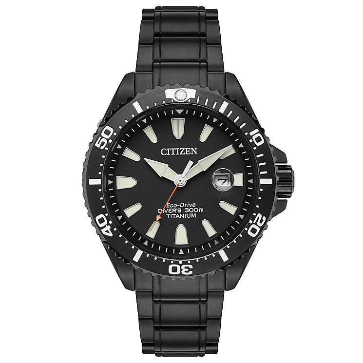 Citizen Royal Marines Men's Ion Plated Bracelet Watch - Product number 5066956