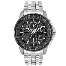 Citizen Skyhawk A.T Men's Stainless Steel Bracelet Watch - Product number 5067006