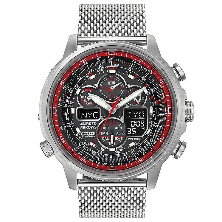 Citizen Navi Hawk Men's Stainless Steel Bracelet Watch - Product number 5067863