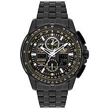 Citizen Skyhawk A.T Men's Ion Plated Bracelet Watch - Product number 5067871