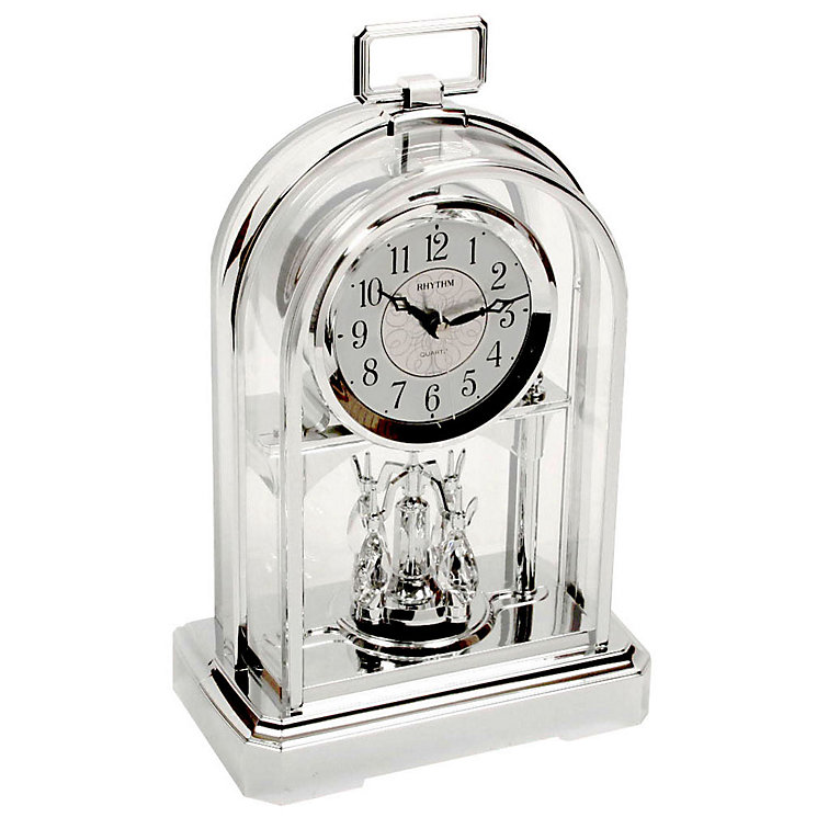 Rhythm Gold Tone Mantel Clock - Product number 5069777
