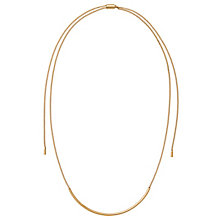 Michael Kors Gold Tone Slider Necklace - Product number 5073022