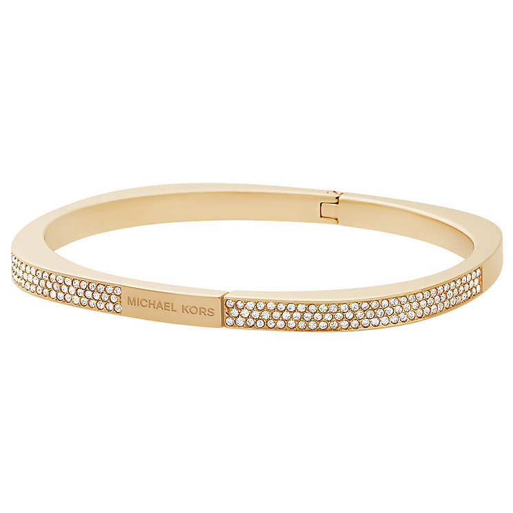 Michael Kors Gold Tone Stone Set Bracelet - Product number 5073073