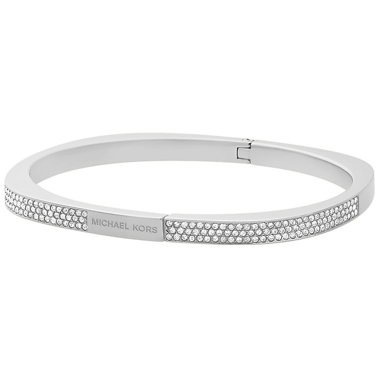 Michael Kors Stainless Steel Stone Set bangle - Product number 5073081