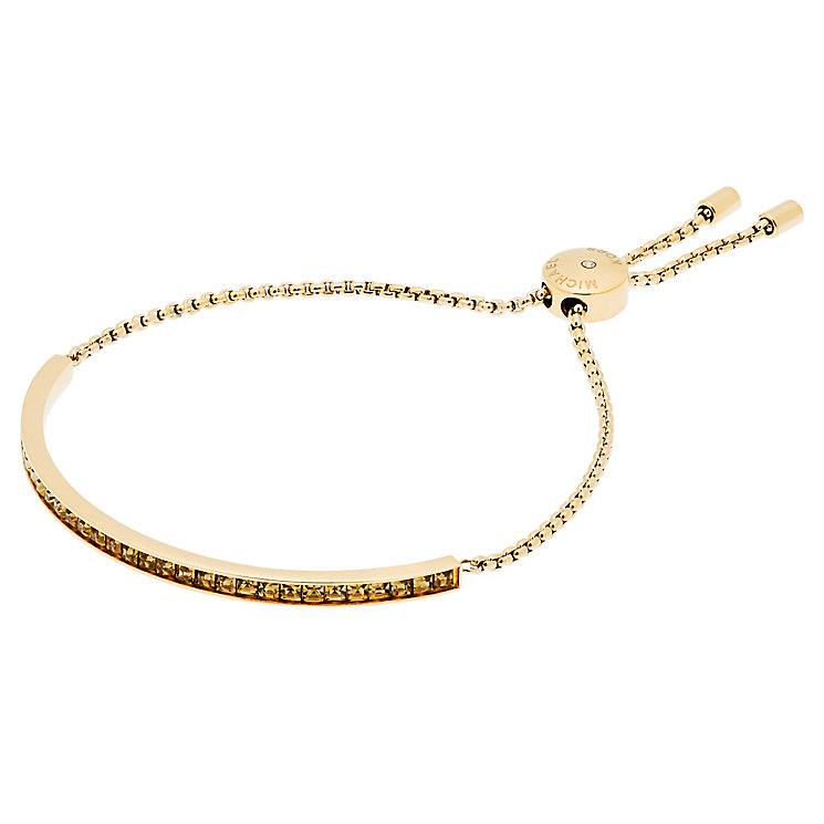Michael Kors Gold Tone Stone Set Bracelet - Product number 5073146