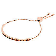 Michael Kors Rose Gold Tone Stone Set Bracelet - Product number 5073154