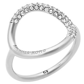 Michael Kors Stainless Steel Stone Set Ring - Product number 5073235