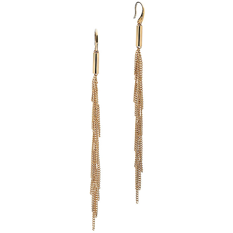 Michael Kors Gold Tone Drop Earrings - Product number 5073278