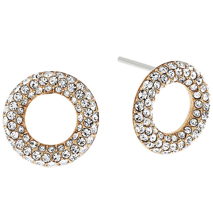 Michael Kors Gold Tone Stone Set Earrings - Product number 5073456